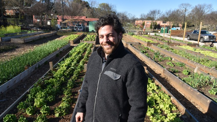Urban agriculture director brings fresh produce to those in need