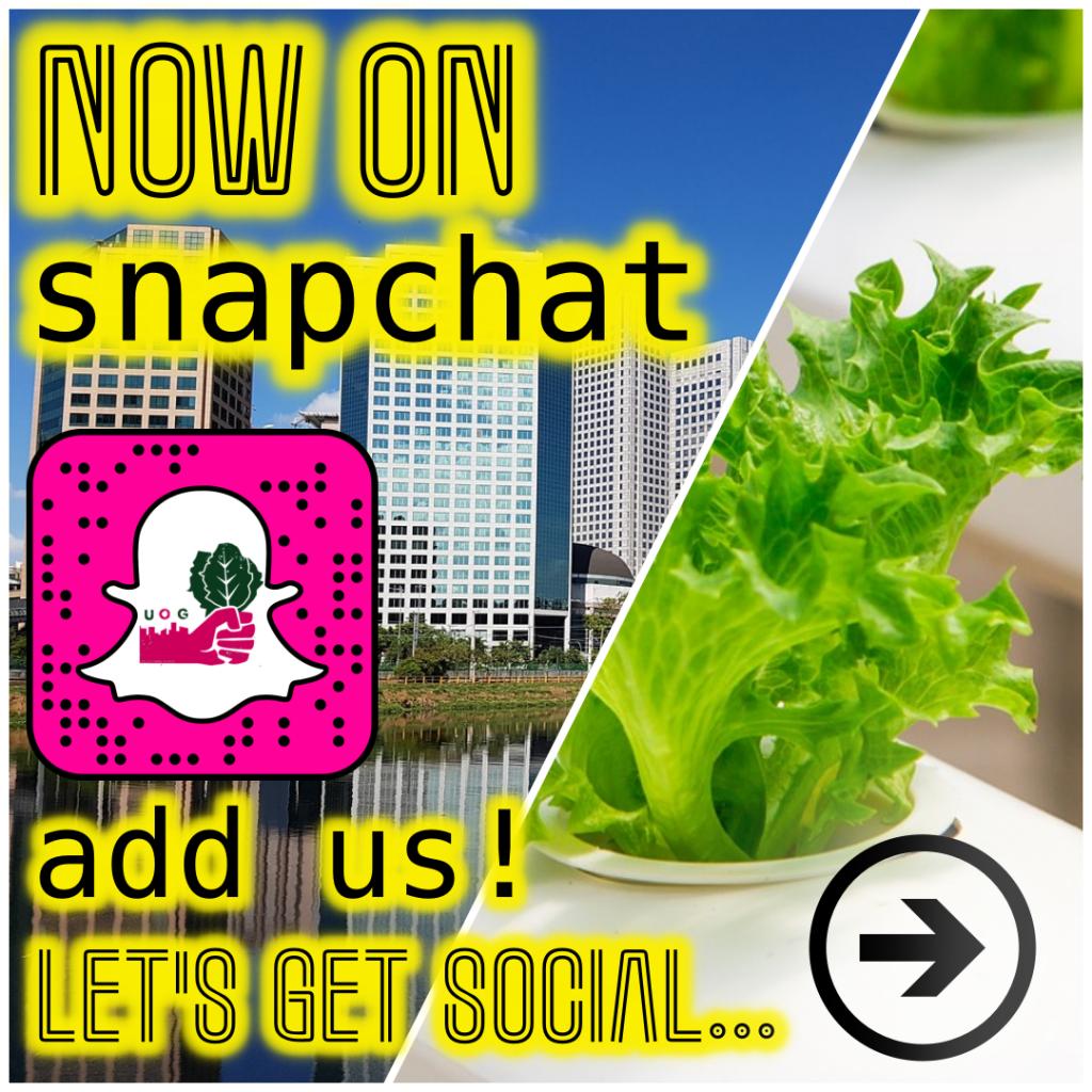 SnapChat UOG IG