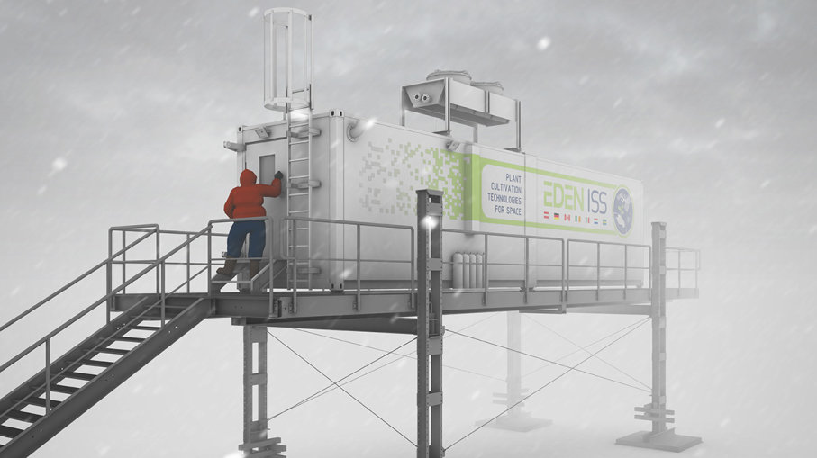 Antarctica-hydroponic-greenhouse