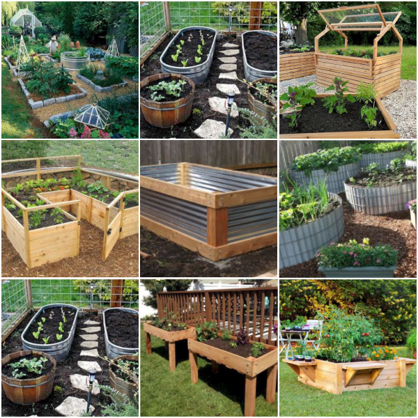 Unique Raised Bed Garden Ideas: 49 Beautiful DIY Raised Garden Beds Ideas