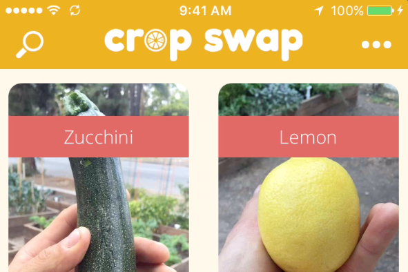 CropSwap – A New App That Lets You Trade Fruits and Vegetables