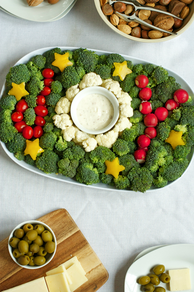 Christmas Tree Veggie Tray.Our 5 Favorite Holiday Platters To Help Keep You On Track